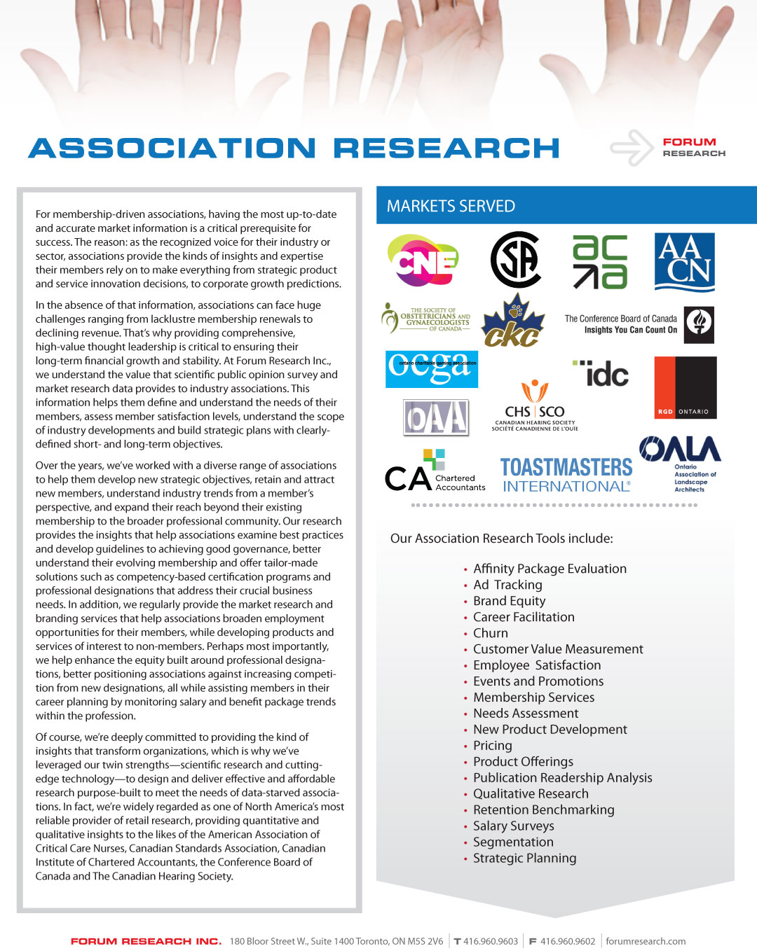 brochures page 1 of 7 insight forum research inc