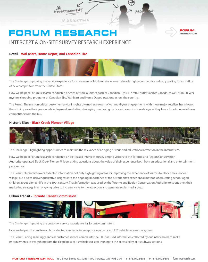 surveys forums brochures page 3 of 7 9889